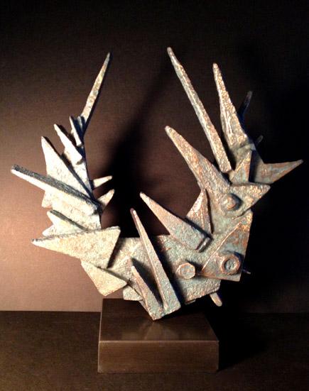 TALUS CONVERGE bronze 30x23x5cm