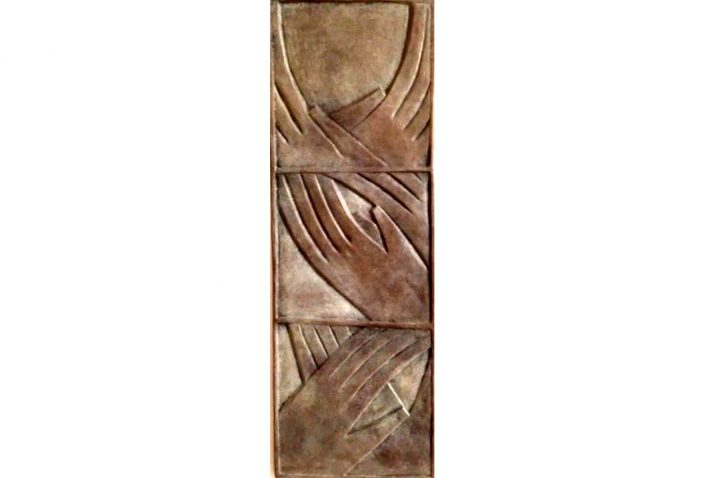 APPLAUSE bronze 62x21x5cm POA