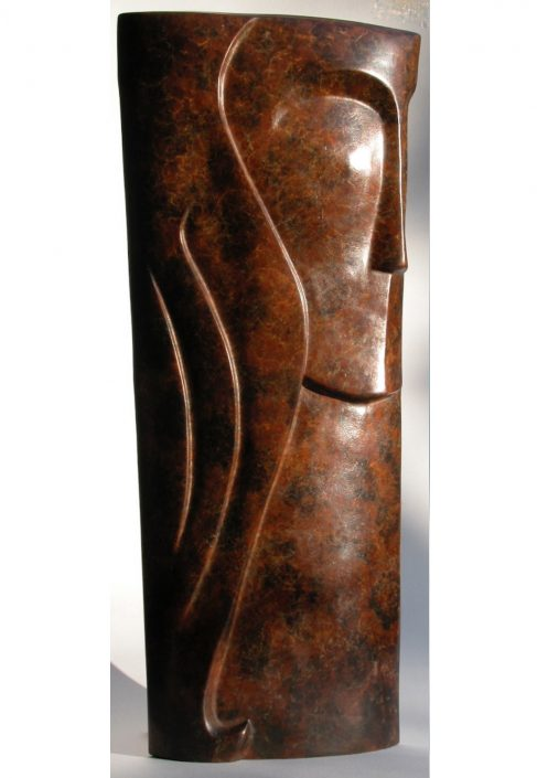 TAKES TWO (view 2) bronze 49x22x6cm POA