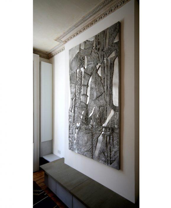 REGOLITH bas-relief aluminium 210x138cm POA