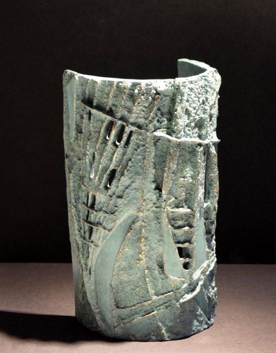 SEDIMENTARY CURVE bronze 25.5x13.5x9cm