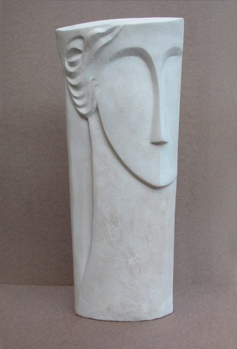 TAKES TWO view 2 cast limestone 49x22x7cm POA