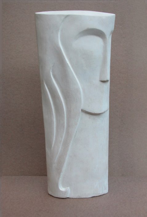 TAKES TWO view 1 cast limestone 49x22x7cm POA