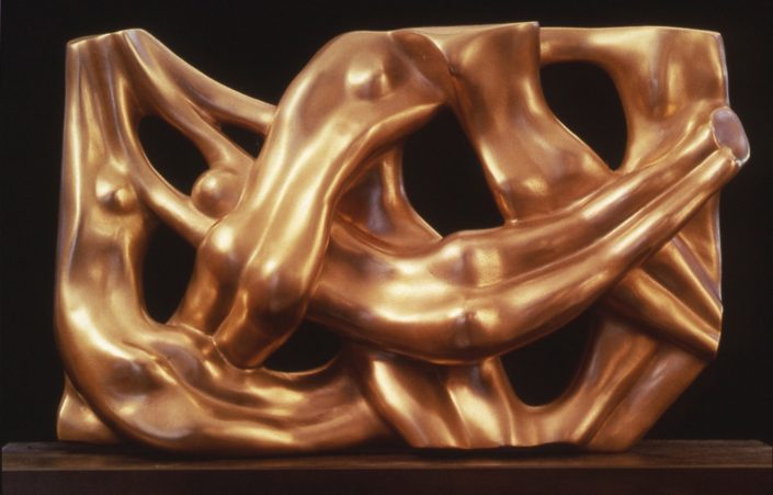 WATERWEAVE bronze 10x42x6cm POA