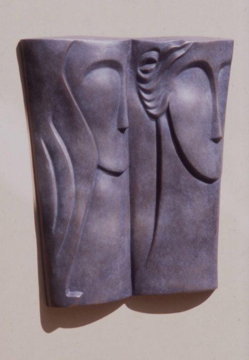 TWOSOME bronze 48x44x6cm POA