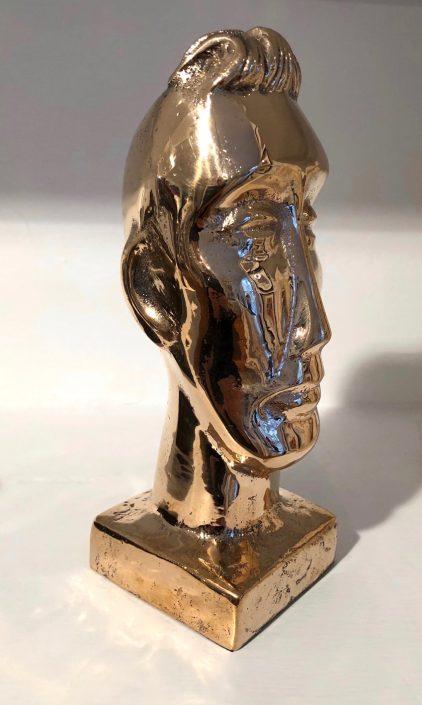 BOY WITH A QUIFF bronze 18.5 x 7 x 7cm POA