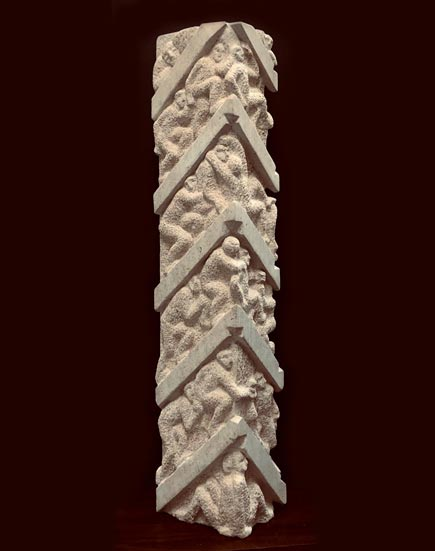 JOURNEY (front view) ancaster stone 96x20x16cm POA